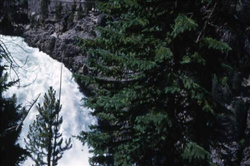 Upper Falls Yellowstone July 23, 1953. img009.jpg. Uploaded by Marie Hoffmann on 1/31/2012.